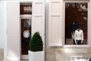 витрина дорогого магазина сумок