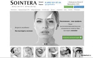 Прототип сайта sointera